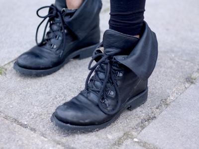Digitalistic Digitalisto Fred N's vintage boots.