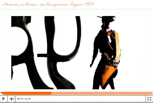 Digitalistic video: Hermès