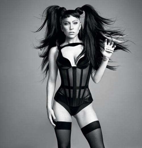 Digitalistic pic: Gaga by Inez & Vinoodh