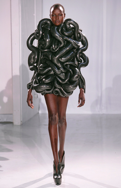 Supporting our local designers: Iris van Herpen loses control