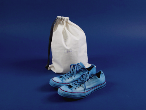 Check out this hand-dyed Converse Chuck Taylor