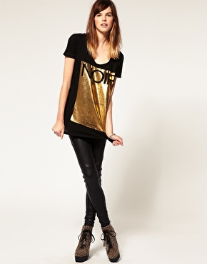 Catch of the day: Eleven Paris Foil Noir T-shirt
