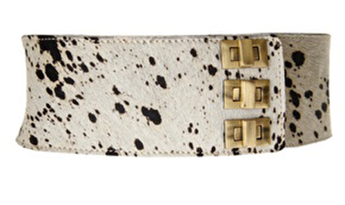 Catch of the Day: wide leopard belt