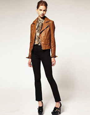 Catch of the day: ASOS leather biker jacket