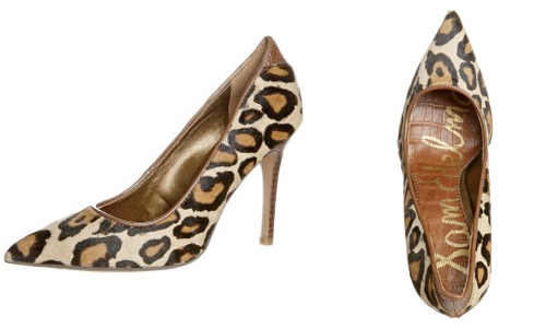 Catch of the day: Sam Edelman leopard pumps