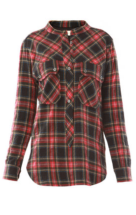 Catch of the Day: Isabel Marant Etoile flannel shirt