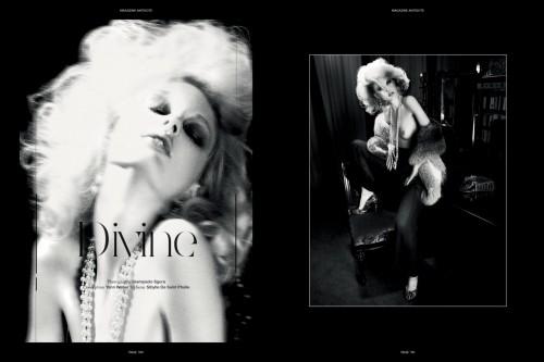 Patricia van der Vliet in Antidote magazine