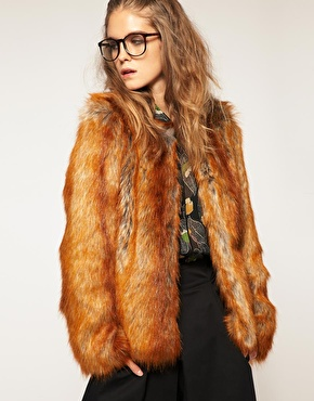 Catch of the Day: Asos faux-fur fox coat