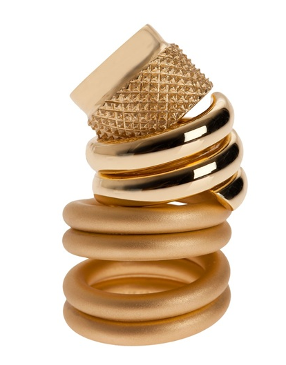 Catch of the Day: stack rings from Maison Martin Margiela