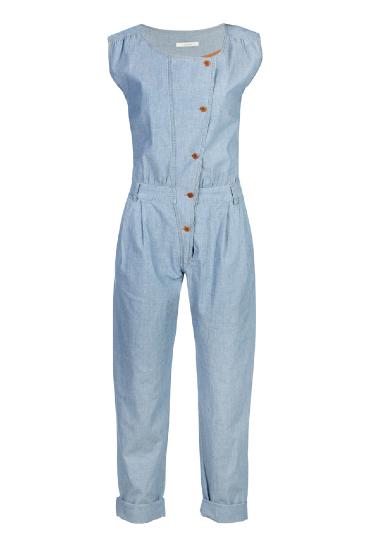 Fashion bargain: denim jumpsuit