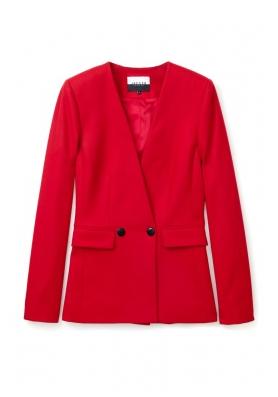 Fashion bargain: red blazer