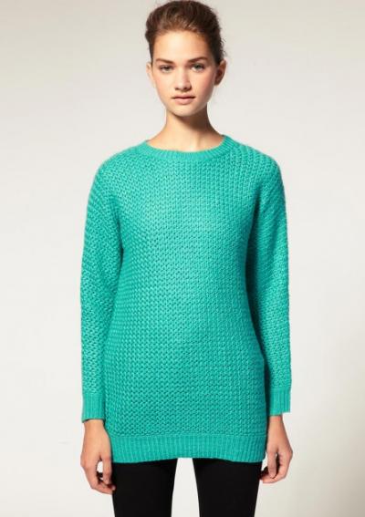 Catch of the Day: Aqua oversized jumper