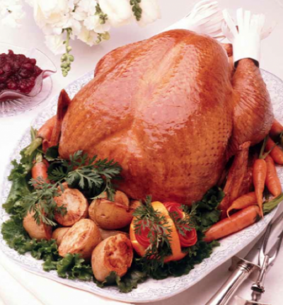 Digitalistic X-mas food: Turkey-to-go