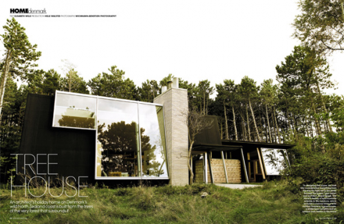 Digitalistic living: Danish Treehouse