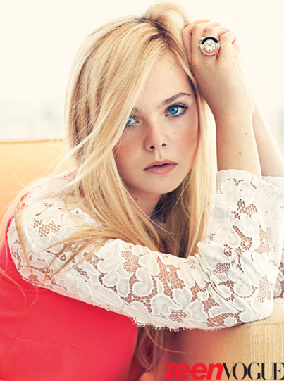 Digitalistic editorial: Elle Fanning x Teen Vogue