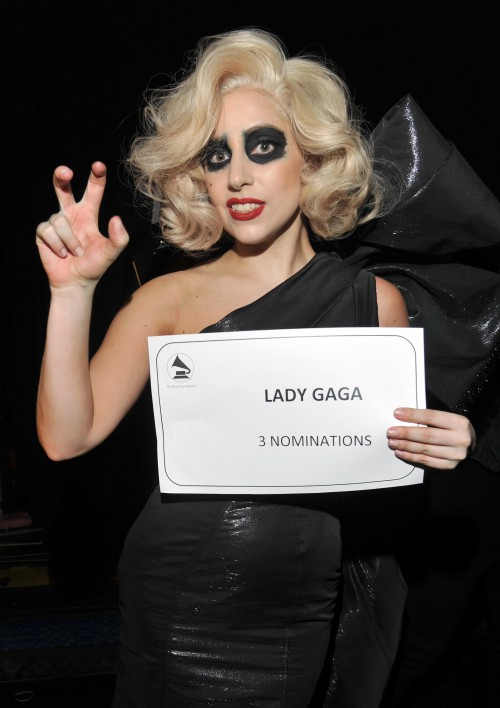 Lady Gaga: 3 Grammy nominations and a classy designer-dress