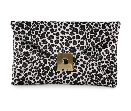 Catch of the Day: leopard clutch from Friis & Company