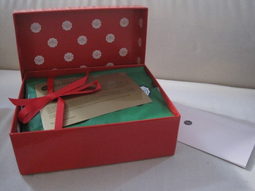 X-mas gift tip: Glossybox