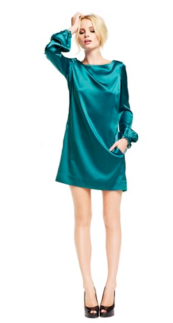 Catch of the Day: LaDress silk satin tunic dress