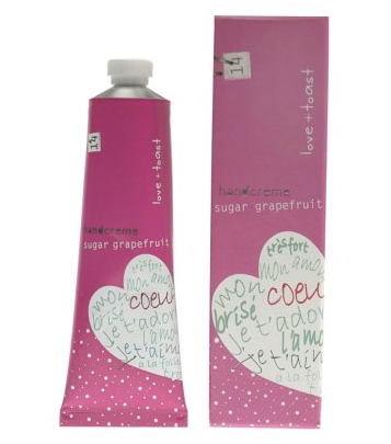 Digitalistic beauty: Love & Toast hand cream