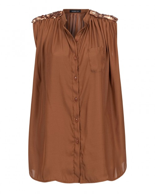 Catch of the Day: Modstrom top with shoulder embellishment