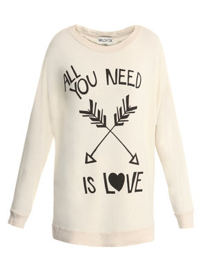 Catch of the Day: 'All you need is love'-sweater