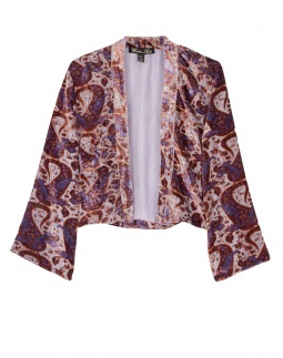Catch of the Day: jade silk burnout jacket