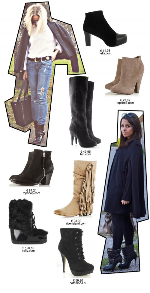 Digitalistic style: winter boots