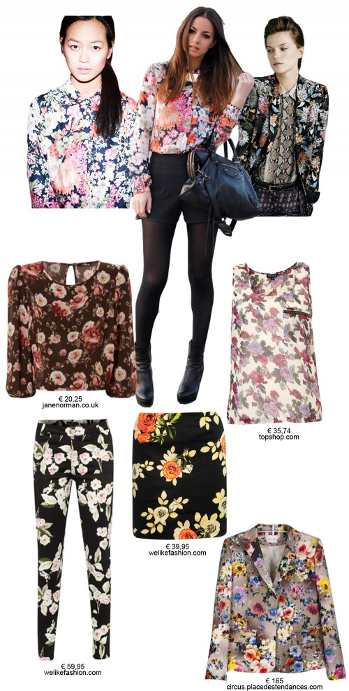 Digitalistic style by La Petite Digi W: floral