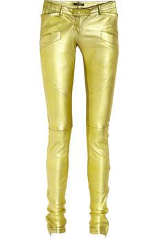 On Sale: Balmain golden pants