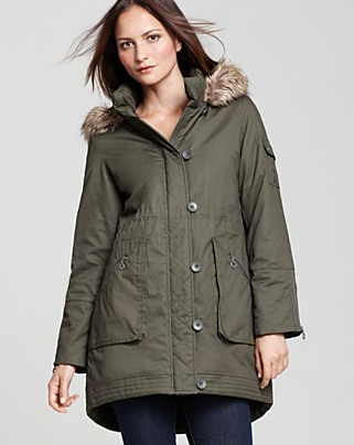 Catch of the day: parka from DKNY
