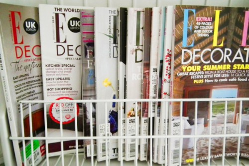 Funny way to store your magazines