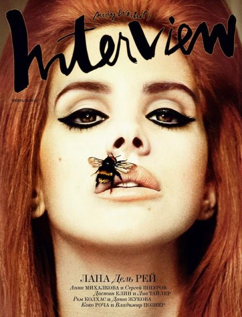 Digitalistic cover: Interview magazine Russia