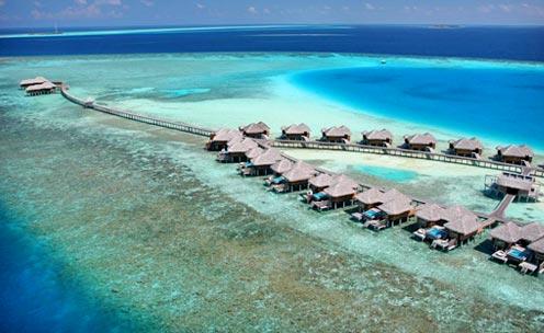 A digitalistic getaway: Huvafen Fushi, Maldives