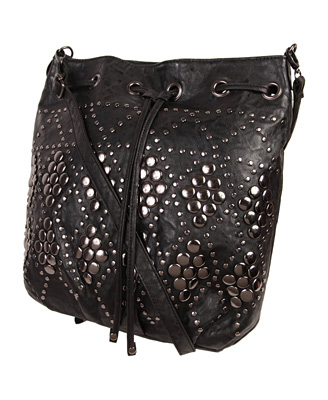 Catch of the day: studded drawstring bag