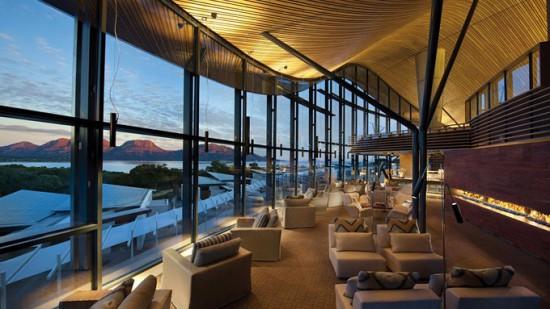 A digitalistic getaway: Saffire Resort, Australia