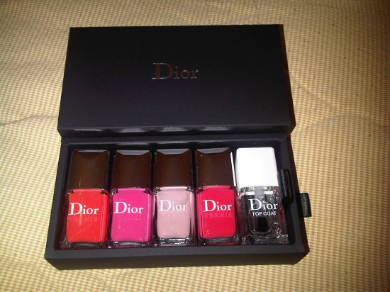 New nail colours for Spring from Dior