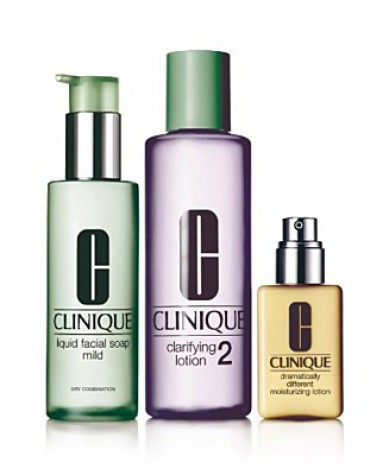 Clinique Three-Step Skincare Program