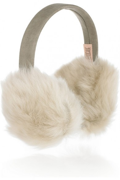 Catch of the day: shearling earmuffs