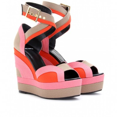 Catch of the Day: Colour blocking wedges