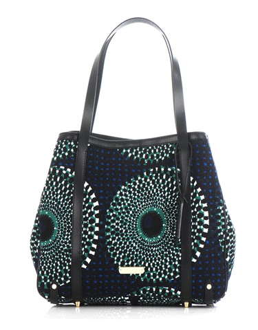 Catch of the Day: African print tote