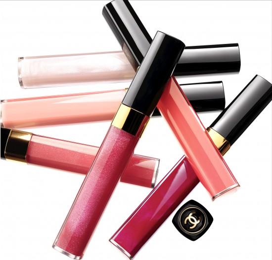 Chanel lèvres scintillantes