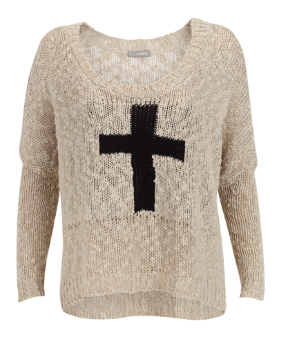 Catch of the Day: Cross sweater