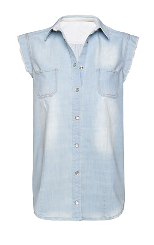 Catch of the Day: washed denim shirt