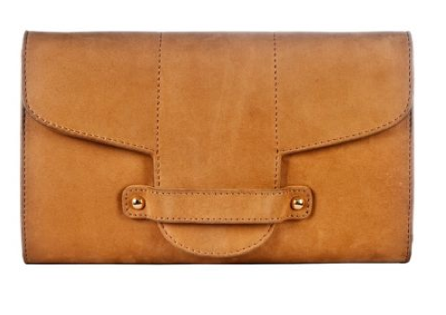 Catch of the Day: Beige clutch