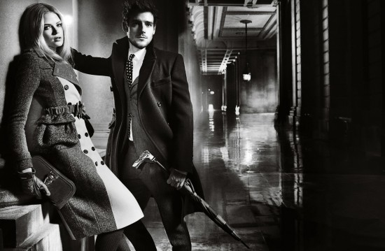 Burberry A/W '12-'13 campaign
