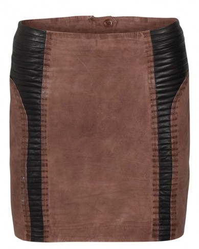 Catch of the Day: Leather Skirt