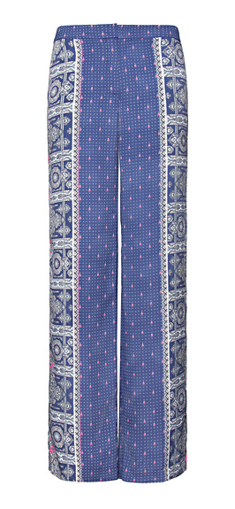 Catch of the Day: Printed Pallazzo trousers