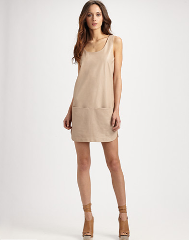 Catch of the Day: Leather tank dress