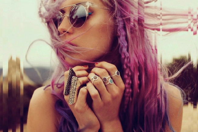 Inspiration by Sanne: Dip Dye